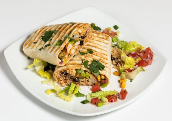 Bowl and Salad with Grilled Chicken
